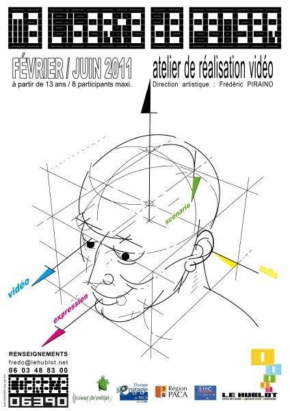 Atelier de réalisation vidéo avec des jeunes de Coaraze (06) dans e - Les metiers du numerique 01ateliervideopiraino